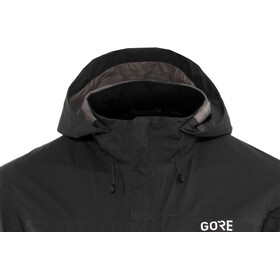 GORE WEAR C3 Gore-Tex Paclite Hooded Jacket Herre black